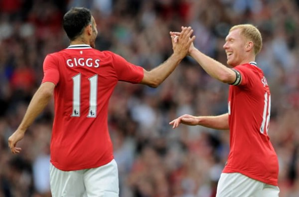 Could this be the last time Giggs and Scholes feature against Liverpool?