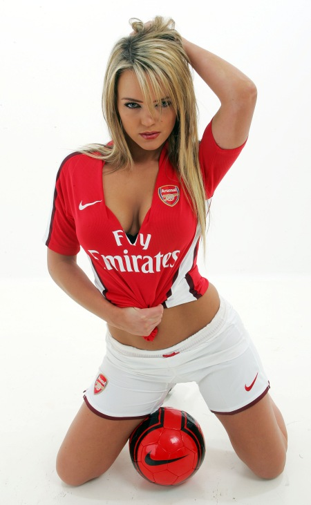 arsenal sexy girl pic