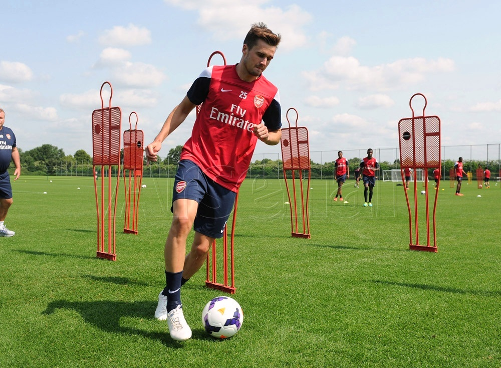 arsenal training 2