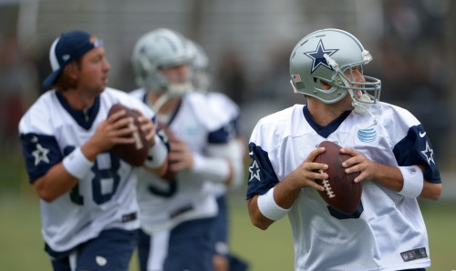 NFL: Dallas Cowboys-Training Camp