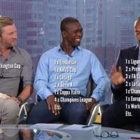 Gary Lineker Trolls Robbie Savage On Twitter As He Compares His Trophies With Clarence Seedorf And Thierry Henry