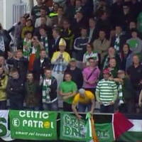 VIDEO: Major Celebration Fail From This Celtic Fan After Callum McGregor's Goal Against KR Reykjavik