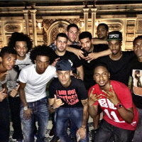Neymar, Willian And A Host Of Brazil National Team Stars Hang Out With Drake