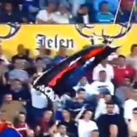 Serbia V Albania Abandoned As Drone Flies Above Pitch, Teams Fight And Fans Riot